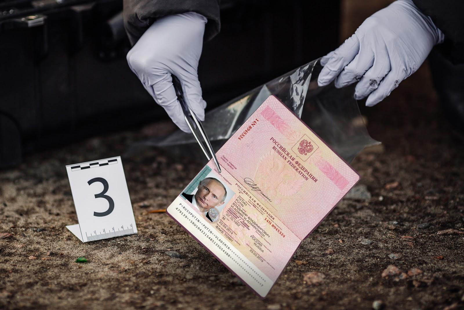 Pass von Putin gefunden (top secret)