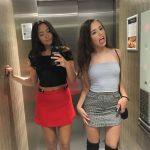 Spaß mit den Elevatorgirls!