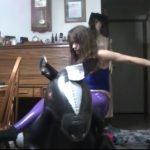 Frauensport: Pferd reiten
